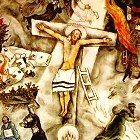 Chagall White Crucifixion (detail)