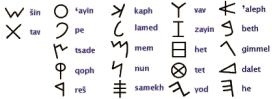 Early Phoenician Script