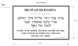 Martha's Saturday Night Visit to WSOMN Chat, Her Message This Morning and Her reference to Shofar 2/28/16 Shofarcard1