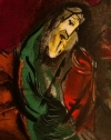 Marc Chagall - Jeremiah Weeps detail